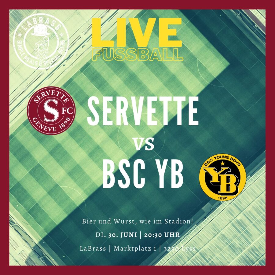 LIVE Fussball: Servette vs. BSC YB