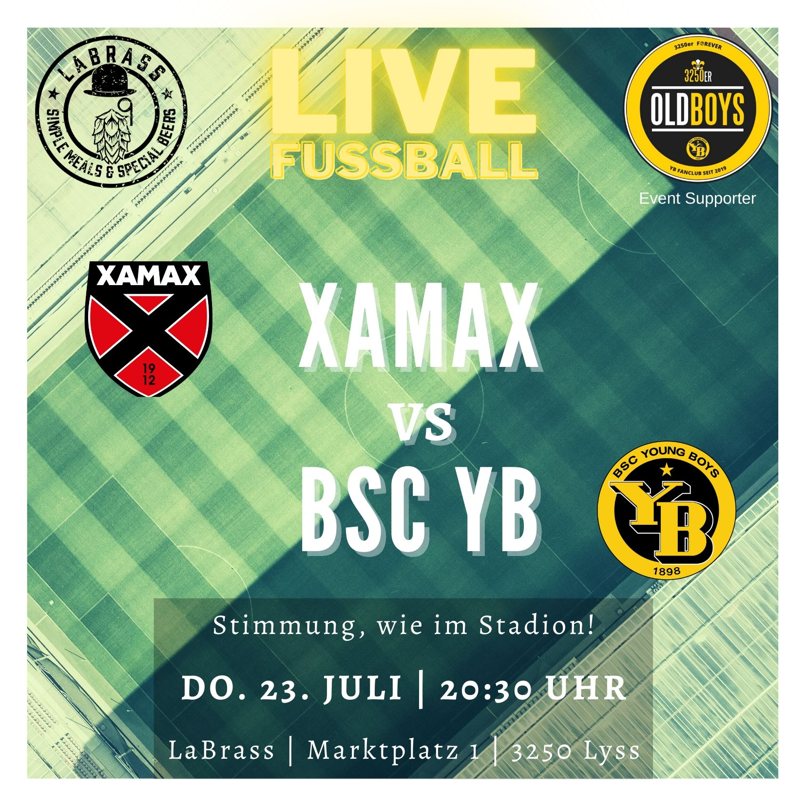You are currently viewing Neuchâtel Xamax vs. BSC YB